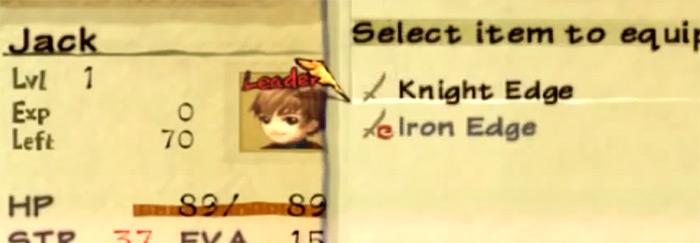 Knight Edge Radiata