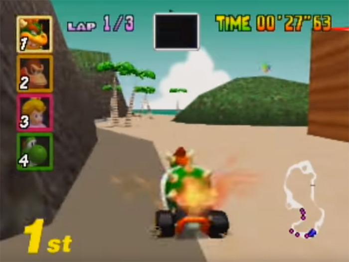 Koopa Troopa Beach Mario Kart