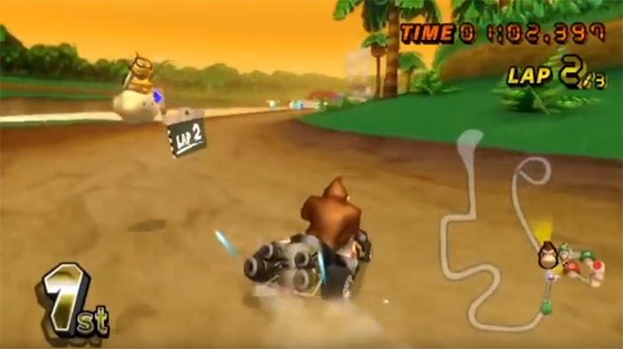 DK Jungle Parkway Mario Kart