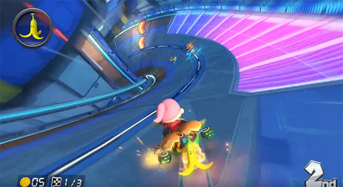 Big Blue Mario Kart
