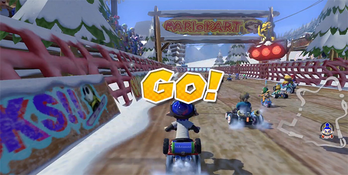 DK Summit from Mario Kart