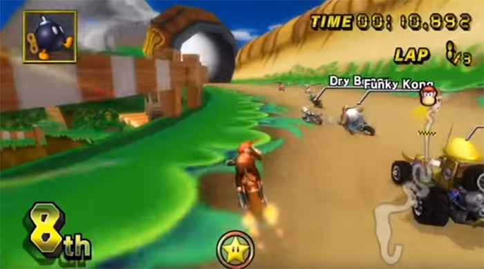 DK Mountain screenshot of gameplay