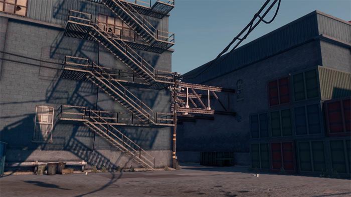 Kinzie's Warehouse in Saints Row 3