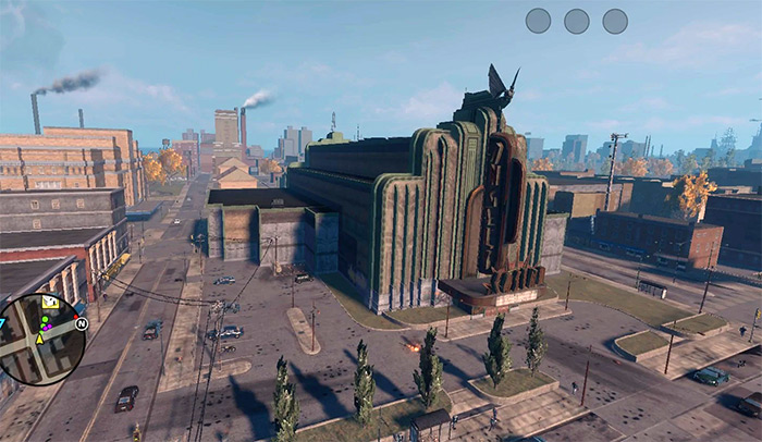 Angel's Gym from Saints Row 3