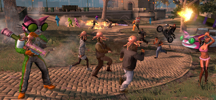 12 Best Weapons In Saints Row: The Third
