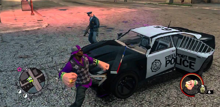 Apoca Fist best Saints Row 3 weapons