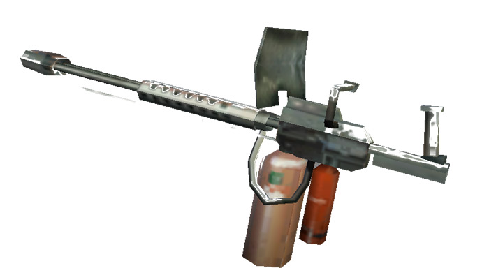 Flamethrower weapon in Vice City