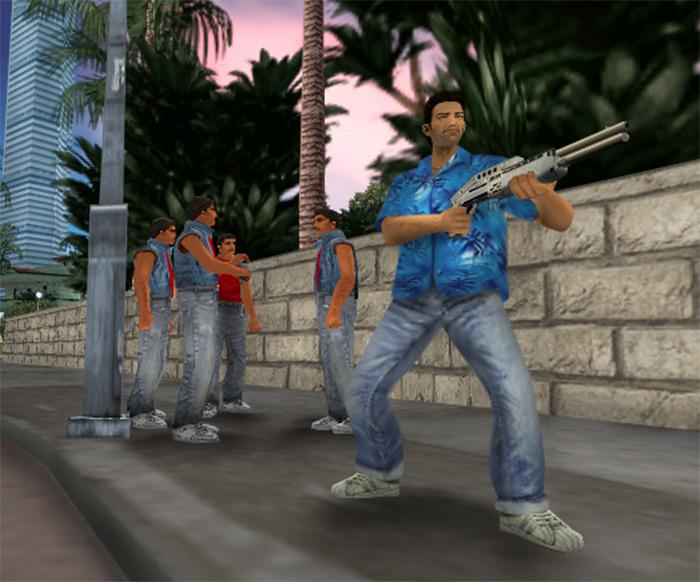 SPAS 12 Shotgun Vice City