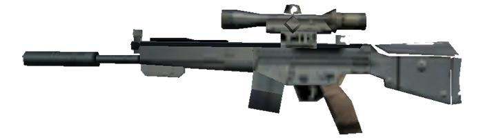 Vice City PSG-1 Sniper Rifle