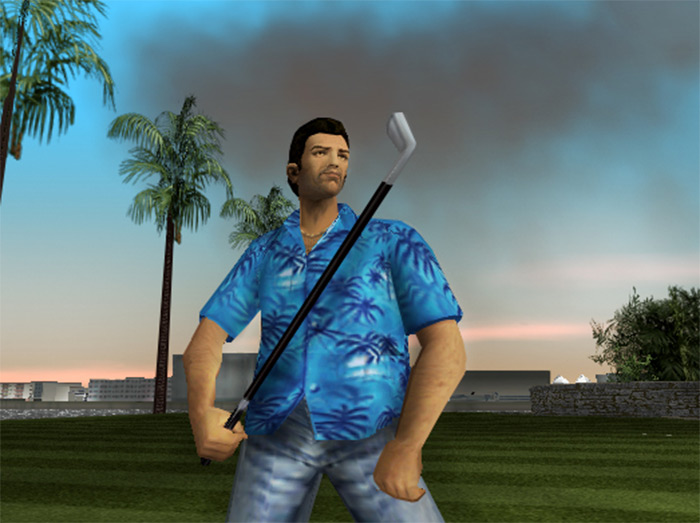 Golf Club weapon in Vice City