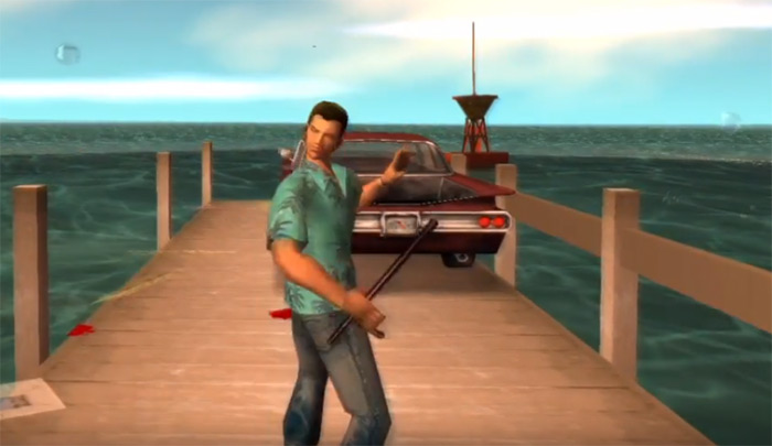 Vice City weapon Nightstick