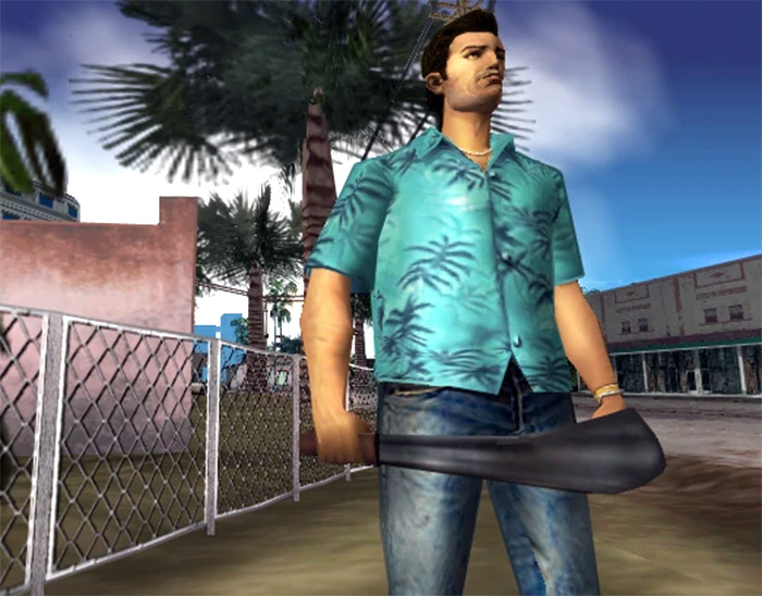 Vice City Machete