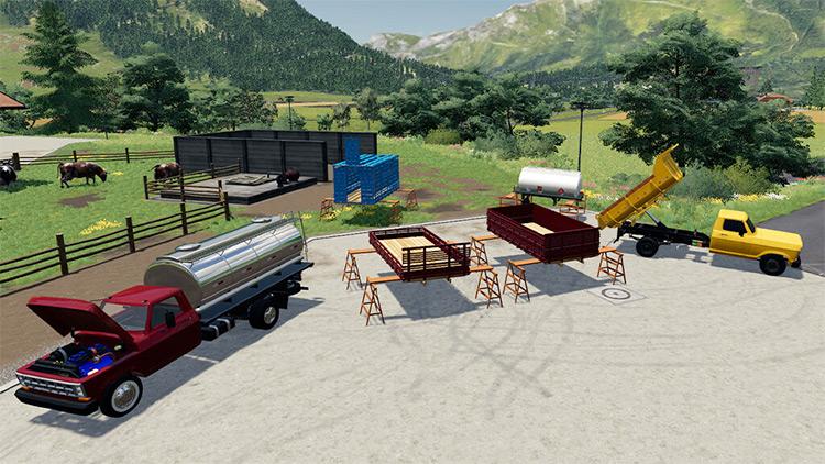 Preview 5000 Pack / Farming Simulator 19 Mod