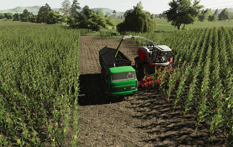 Liaz 151280 Dump Truck/ Farming Simulator 19 Mod
