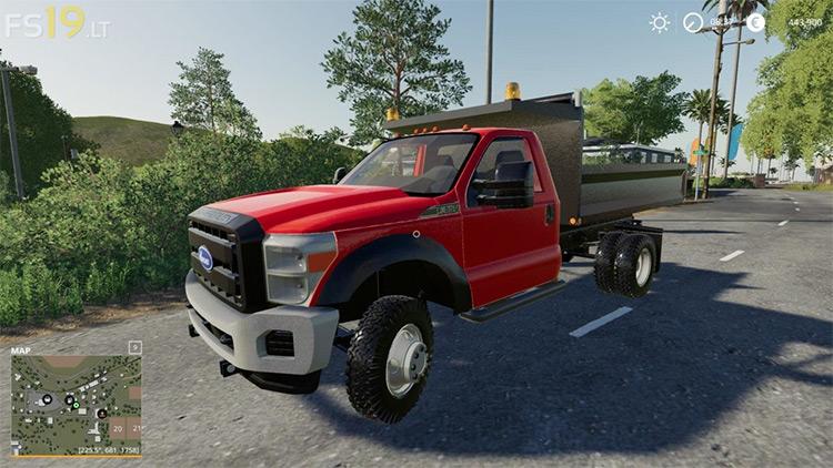 Ford F550 Truck / Farming Simulator 19 Mod