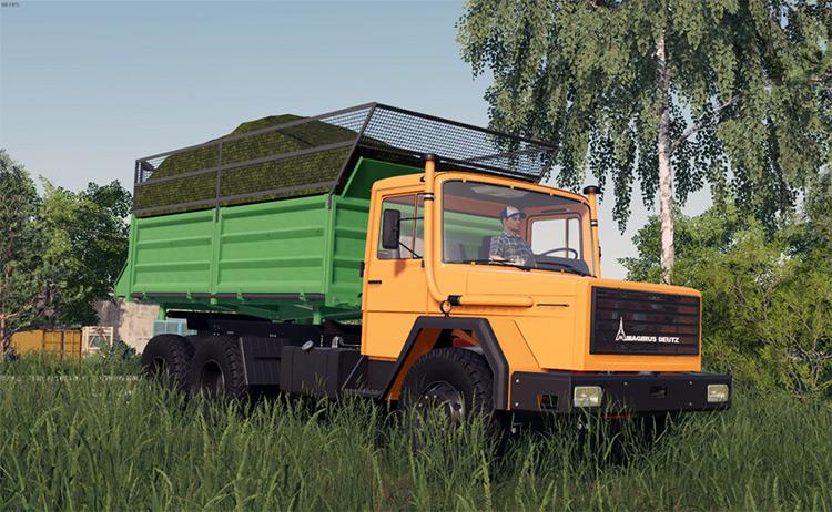 Magirus-Deutz 232 Dump Truck / Farming Simulator 19 Mod