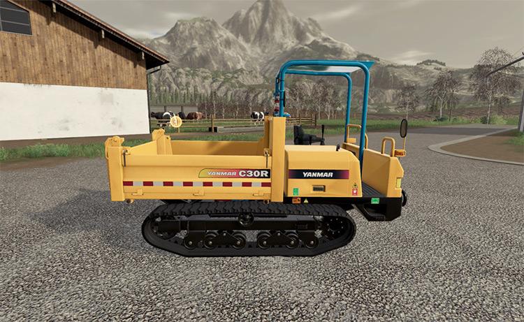 Yanmar C30R-2B Truck / Farming Simulator 19 Mod