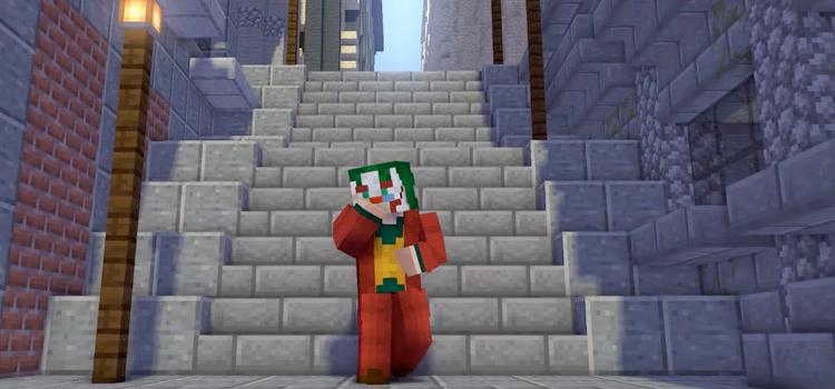 Batman's The Joker Skin in Minecraft
