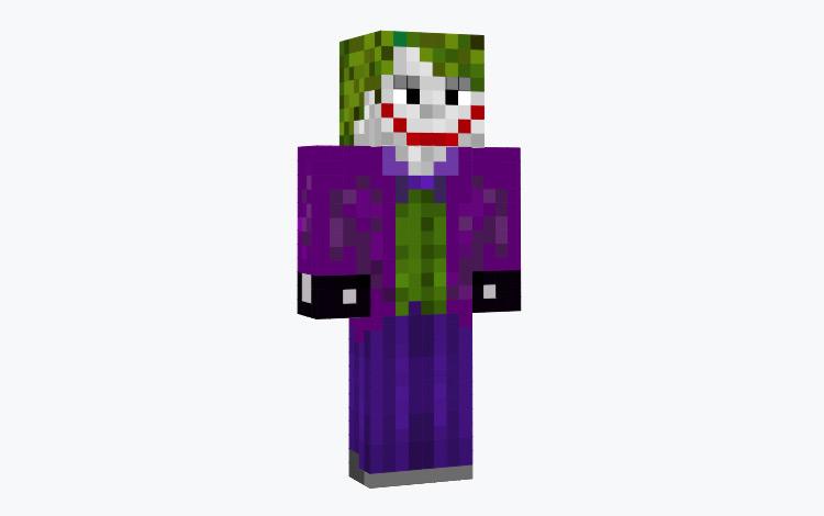 The Joker from Batman / Minecraft Skin