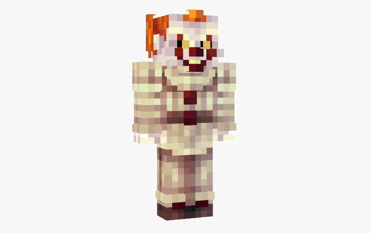 Pennywise Minecraft Skin