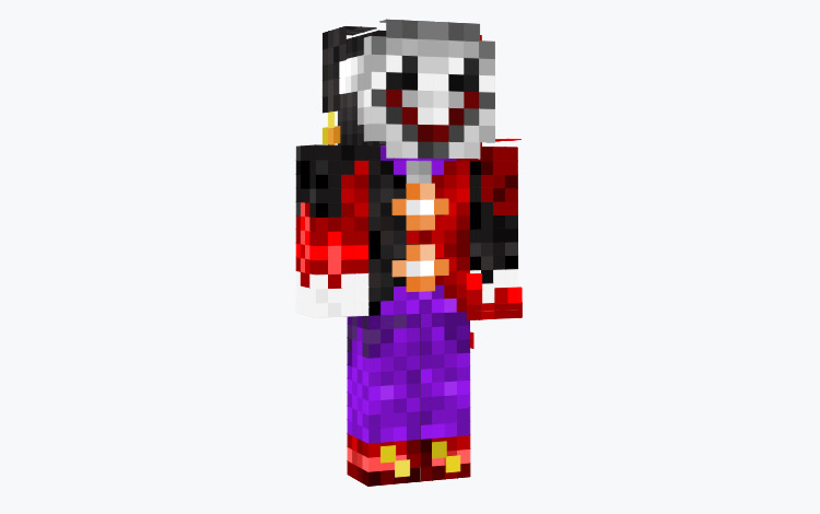 Simple Jester Minecraft Skin