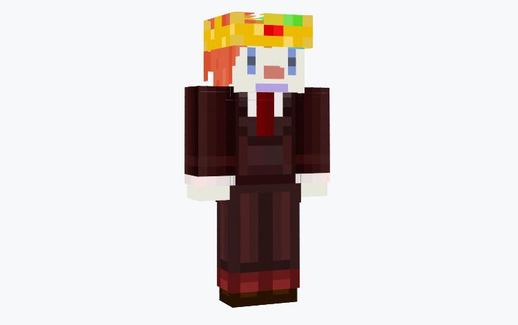 Clown King Minecraft Skin