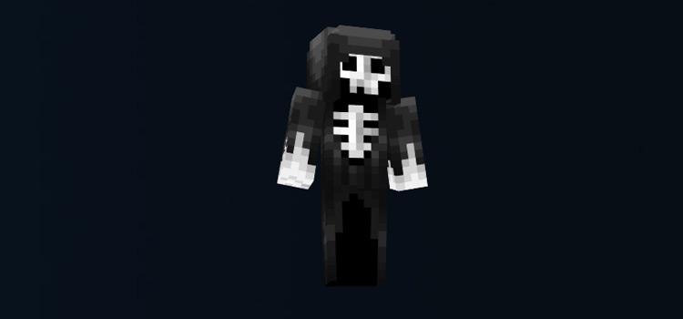 Grim Reaper Minecraft Skin preview