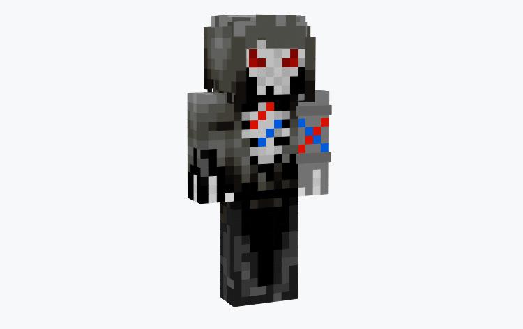 Robot Grim Reaper Minecraft Skin