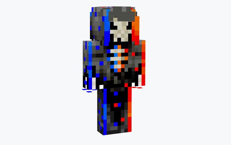 Glitch Reaper Minecraft Skin
