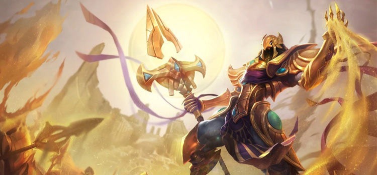 Azir Default Skin Splash / Credit Riot Games
