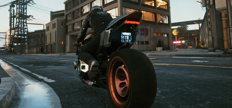 Cyberpunk2077 ReShade True HDR Motorcycle Preview
