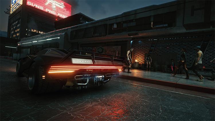 Cyberpunk 2077 Autonomous ReShade