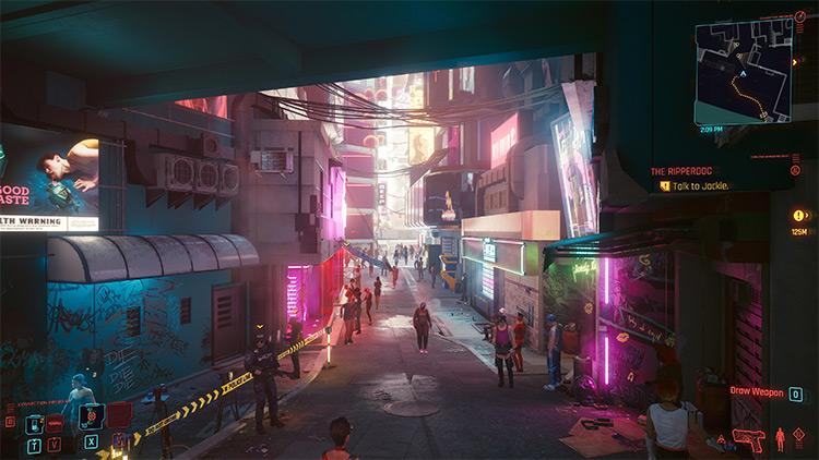 Draw Distance Boost Cyberpunk 2077 Mod screenshot