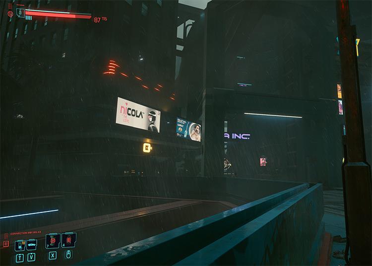 Blade Runner 2077 Better Rain Mod