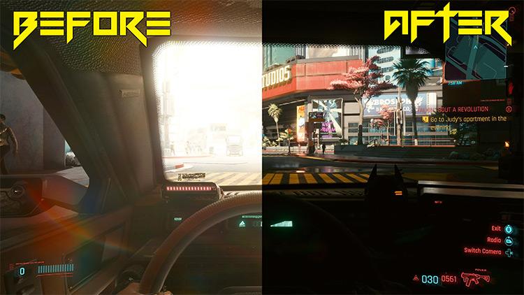 Eye Adaptation Fix Mod for Cyberpunk 2077