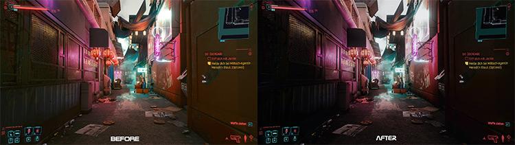 Cyberrunner Blade Runner-style ReShade Mod