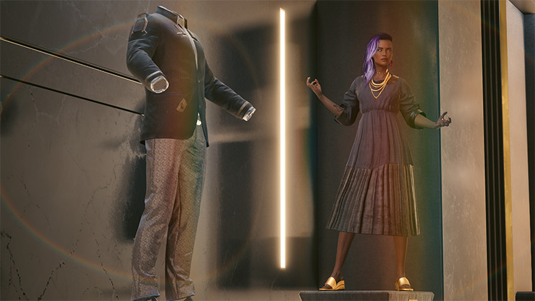 Jinguji Unique Clothes for Female V / Cyberpunk 2077 Mod