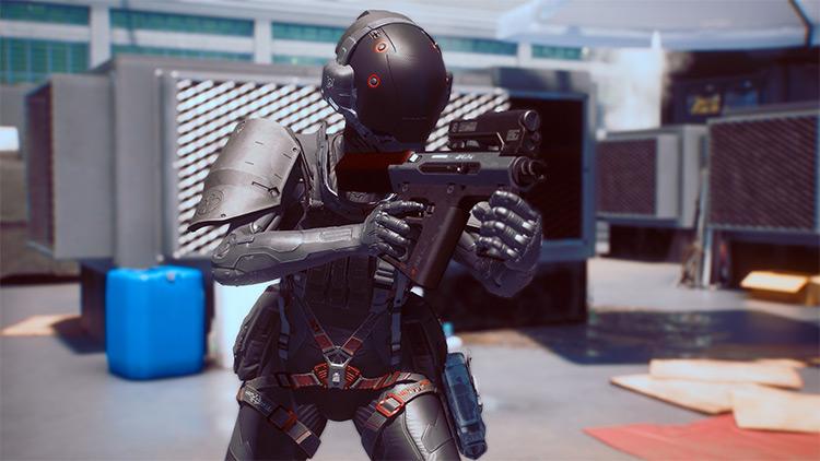 Arasaka Black Ops Armor for Cyberpunk 2077
