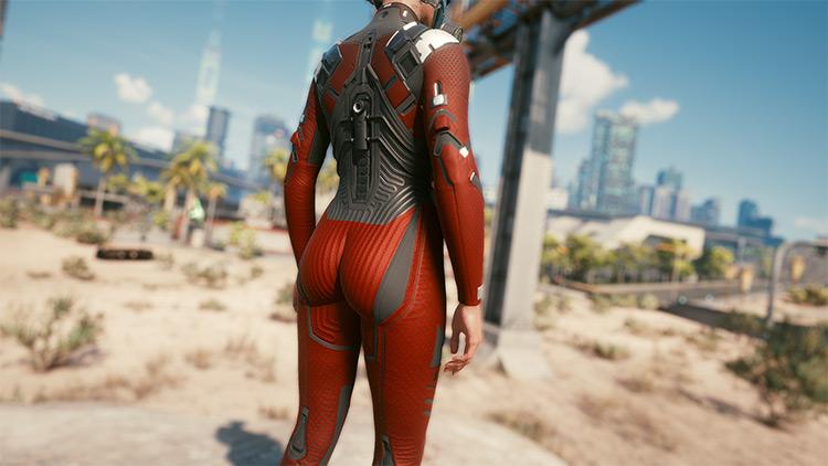 Hi-Res Netrunner Suit / Cyberpunk 2077 Mod