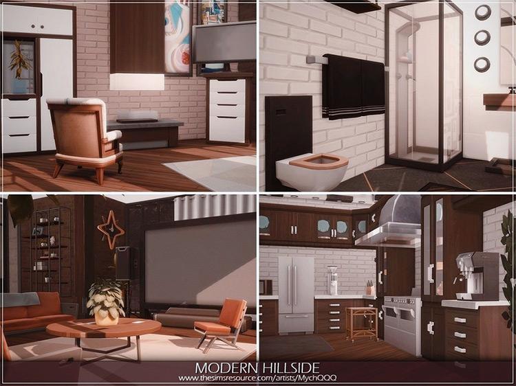 Modern Hillside Mansion Lot / TS4