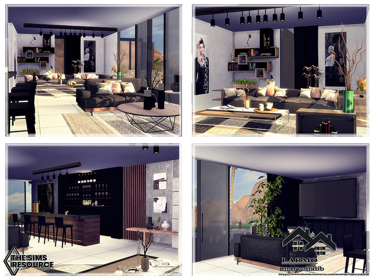 LARMO Mansion for Sims 4
