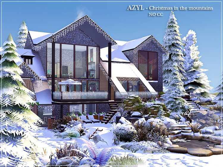 Christmas in the Mountains Lot for TS4