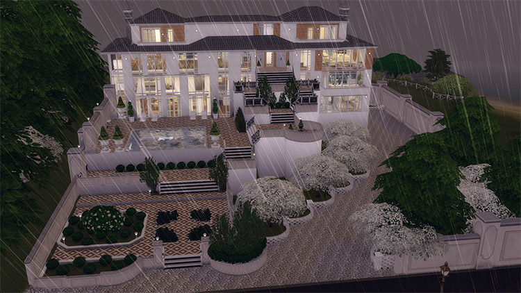Family Mansion for The Sims 4
