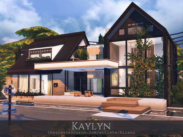 Kaylyn Mansion / Sims 4