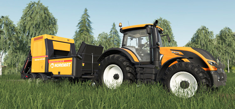 Noremat Valormax Woodchipper Mod from FS19