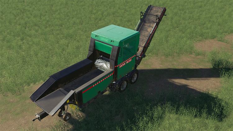 Jenz BA 725 D Wood Chipper / FS19 Mod