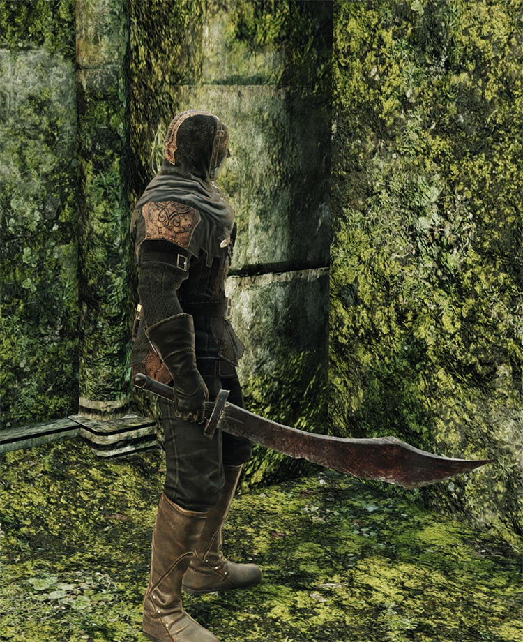 Red Rust Scimitar in DS2
