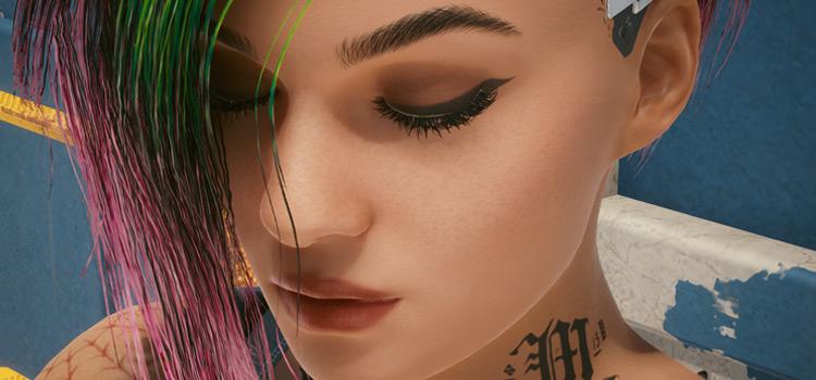 Judys Beautified Face Mod for Cyberpunk 2077