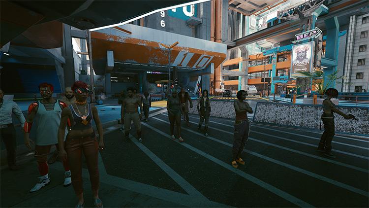 Companion Mod for Cyberpunk 2077