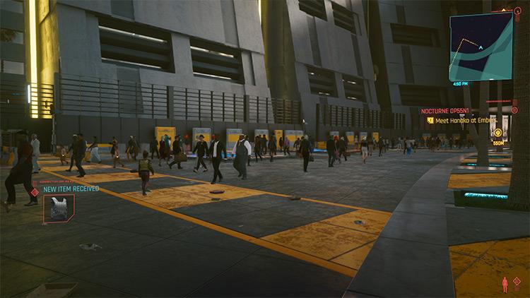 Alternate Crowd Behavior Mod for Cyberpunk 2077